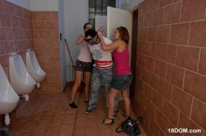 femdom teen sex in toilet